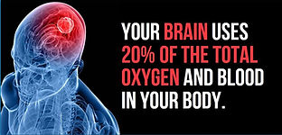 Brain use of oxygen