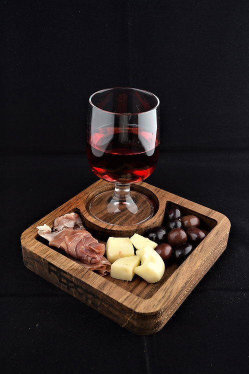Vassoio Mono Noce Scuro- Appetizer board Mono Dark  Walnut