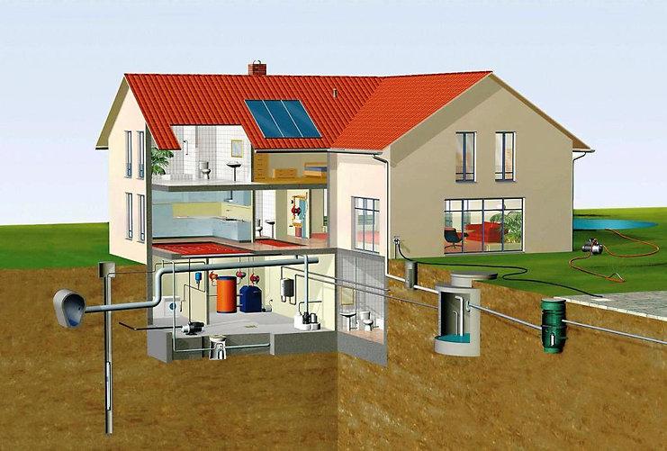 отопление, водоснабжение частного дома, водопровод частного дома, водоотведение, водоподготовка, очистка стоков, вентиляция ростов, установка счетчиков, проколы под дорогами ростов, строительство и проектирование бассейнов, теплый пол