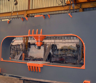 IMT2042 - KMS Cap. 370 Ton Dishing Press