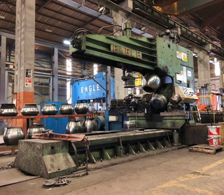IMT1964 - Eagle KMS Flanging Machine Cap. 32 mm x 7000 mm