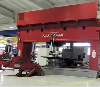 IMT2104 - Akyapak Cap. 500 ton x 5000 mm Dishing Press