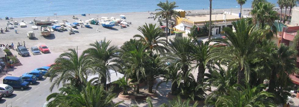 Stranden i Almuñecar