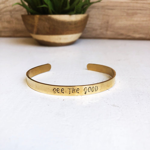see the good - gold