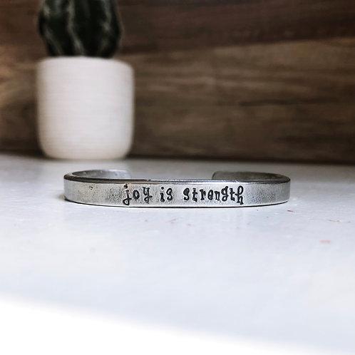 joy is strength - mother teresa