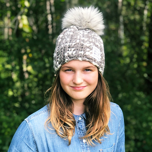 Steel My Heart Pom Hat