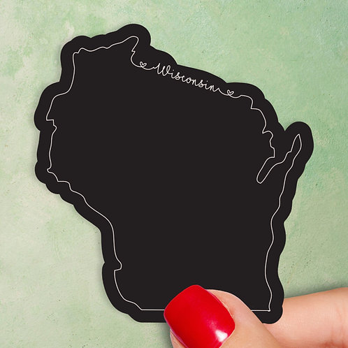 Wisconsin Love Decal