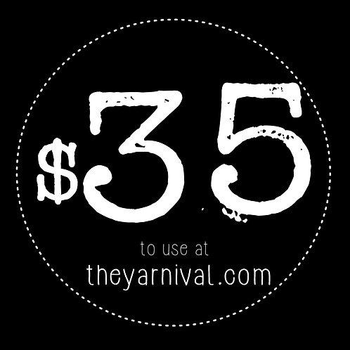 $35 Gift Code