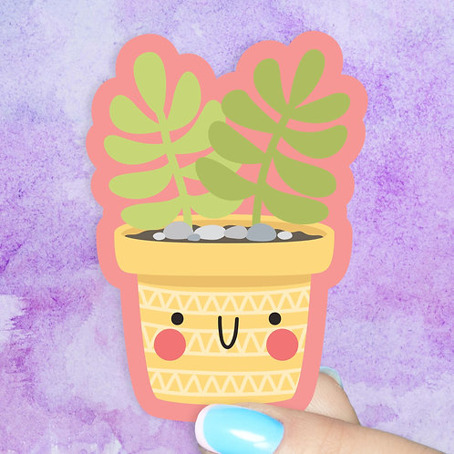 Paddle Succulent Decal