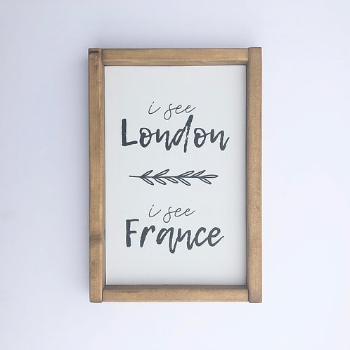 I See London Sign