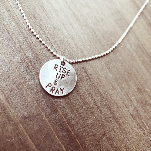 Rise Up & Pray Necklace