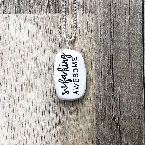 SOFA KING AWESOME necklace