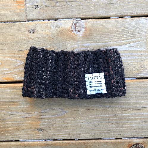 Browns n Black Winter Headband
