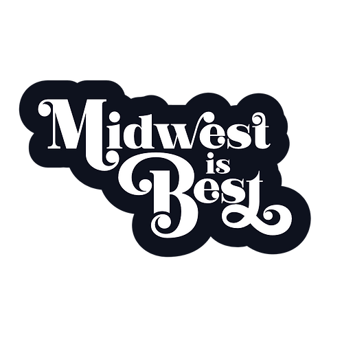 Midwest is Best Decal