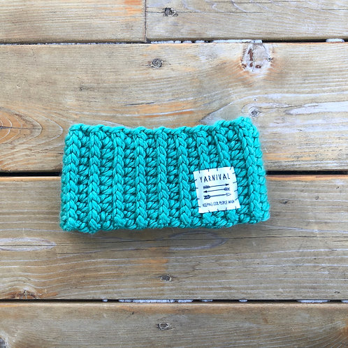 Aqua Winter Headband