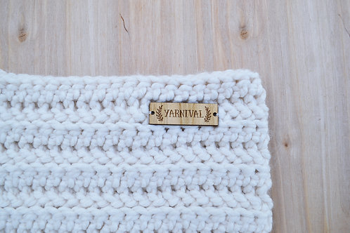 Fisherman Cream Cowl