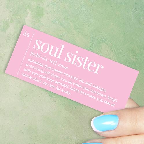 Soul Sister Decal