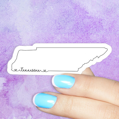 Tennessee Love Decal
