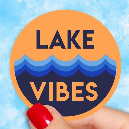Lake Vibes Decal