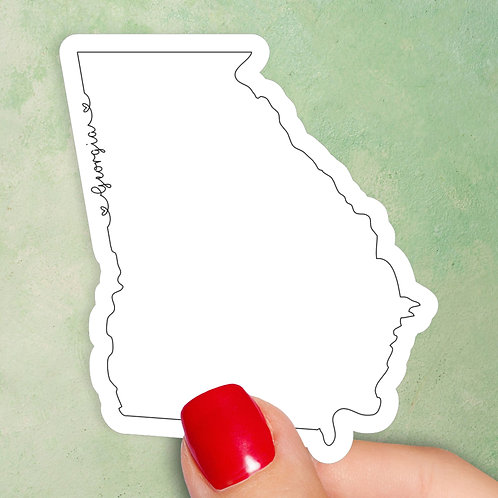 Georgia Love Decal
