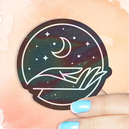 Lunar Manifest Hologram Decal