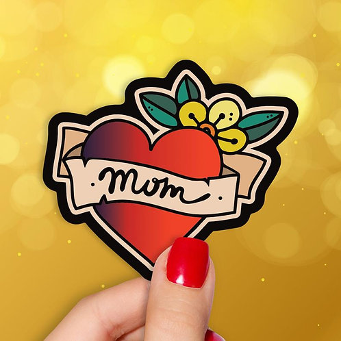 Mom Tattoo Decal