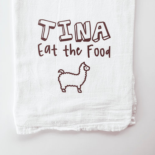 Tina Eat the Food
