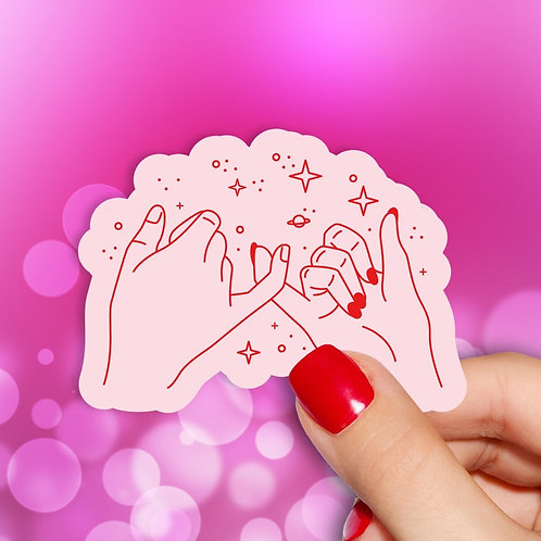 Pinky Promise Decal