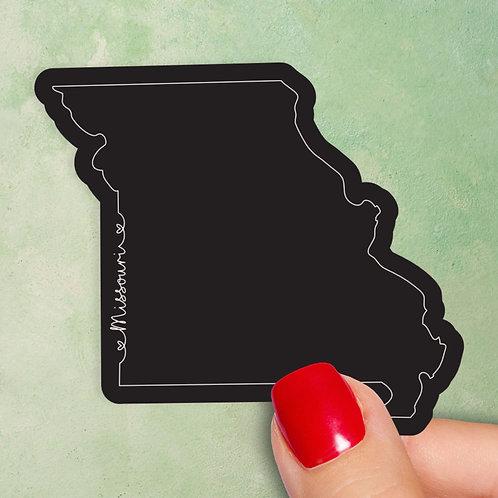 Missouri Love Decal