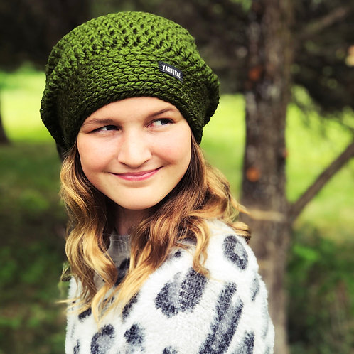 Evergreen Slouch Hat