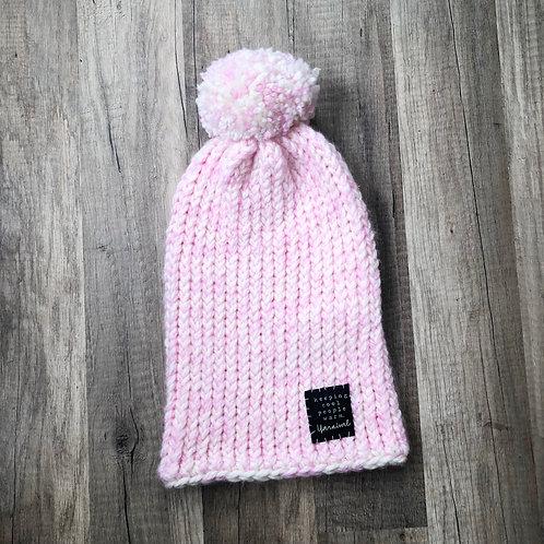 Lt Pink w/ Pom