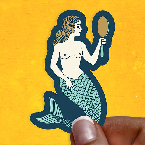 Sultry Siren Decal