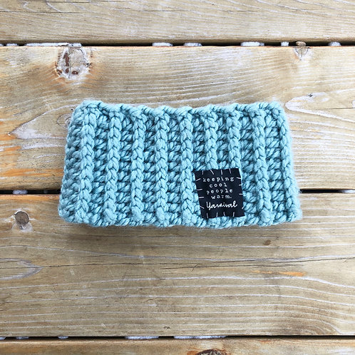 Sea Foam Winter Headband
