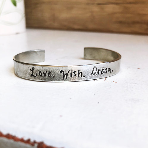 Love. Wish. Dream.