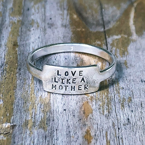 Love Like a Mother tab ring