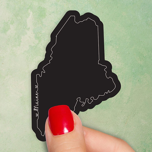 Maine Love Decal
