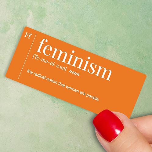 Feminism Decal