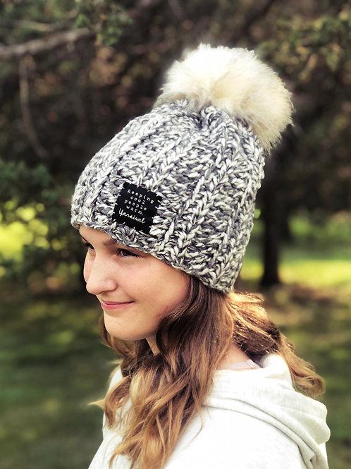 Storm Pom Hat