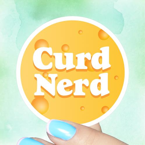 Curd Nerd Decal