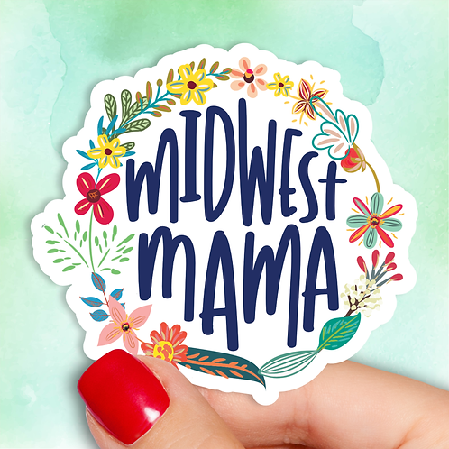 Midwest Mama Decal
