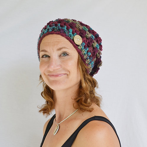 Mulberry Slouch Hat