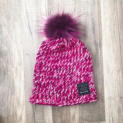 Pinks w/ Deep Pink Pom