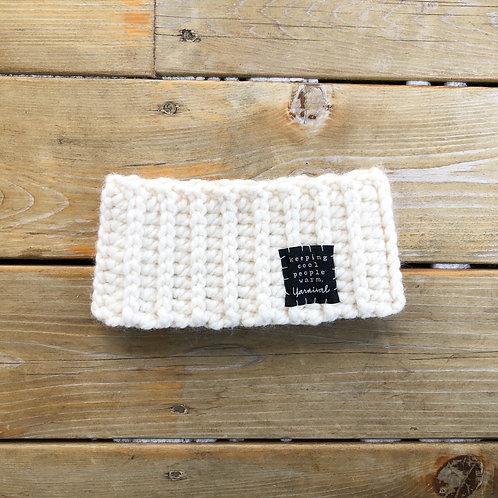 Cream Winter Headband