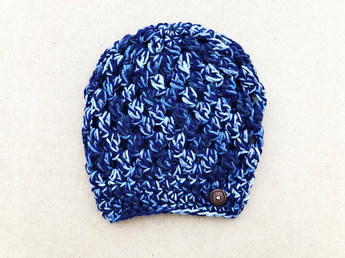 Blueberry Slouch Hat