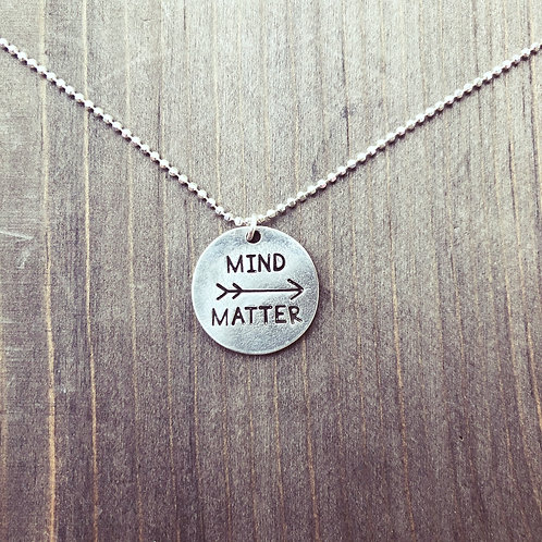 MIND (over) MATTER  Necklace