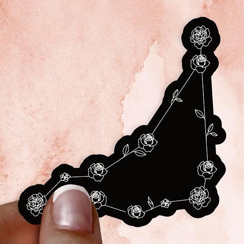 Capricorn Constellation Decal