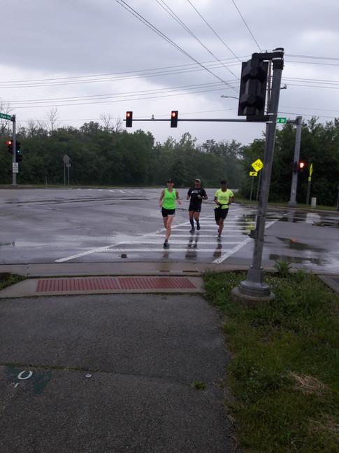 First day of TrainingFirst Day of Marathon Training