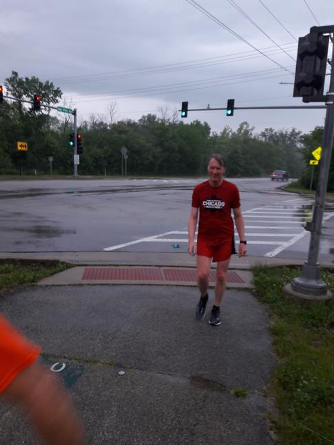First Day of Marathon Training