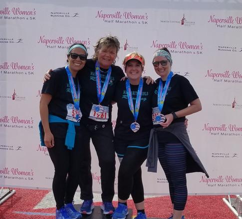 Naperville women's half marathon