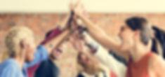 Teamwork Power Successful Meeting Workpl